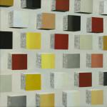 Shared Wall, 30x30 cm, olieverf op doek