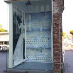 Geïnstalleerd in het Kunst-Torentje in Almelo