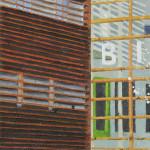 Bieb, Alkmaar,15x15x3,5 cm, olieverf op doek