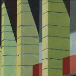 Fragment 6 Berlijn, 18x24 cm, olieverf op doek