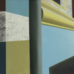 Fragment Amsterdam, 18x24 cm, olieverf op doek