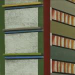 Fragment Berlijn 3, 18x24 cm, olieverf op doek