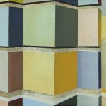 Fragment Berlijn 4, 18x24 cm, olieverf op doek