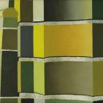 Fragment Berlijn 7, 18x24 cm, olieverf op doek