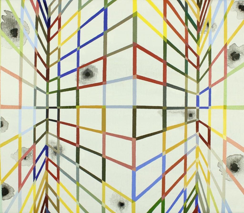 Open Muur, 35x40 cm, olieverf op doek, 2016