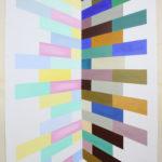 Tot Hier, 220 x 125 cm, acryl op doek