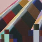 Cityscape 2, 27.5x38.5 cm, acryl op doek